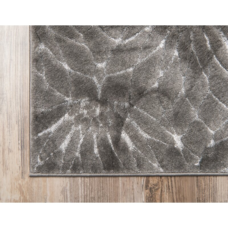 Glam Gray Area Rug