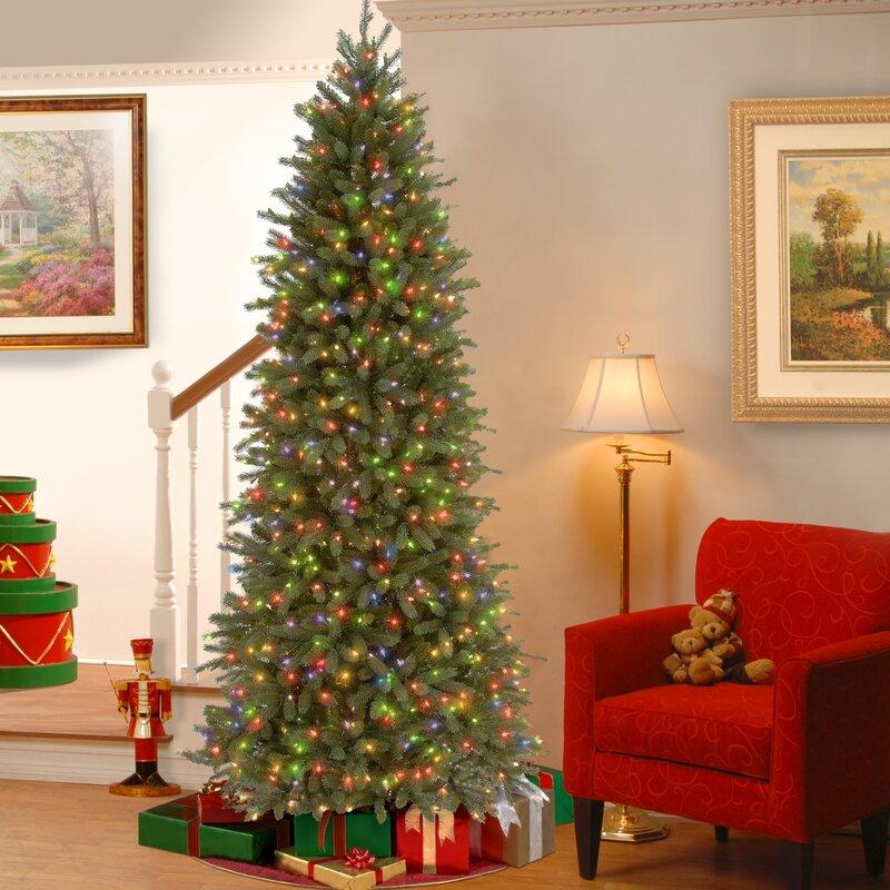 Artificial Christmas Tree Warehouse: Gracie Oaks Feel Real Fraser Green Fir Trees Artificial