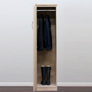 Flat Iron Armoire by Gothic Furniture