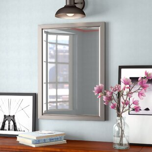 Brushed Nickel Pivot Mirror Wayfair