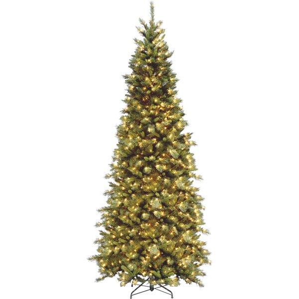 The Holiday Aisle Tiffany Fir 9' Green Slim Artificial Christmas ...