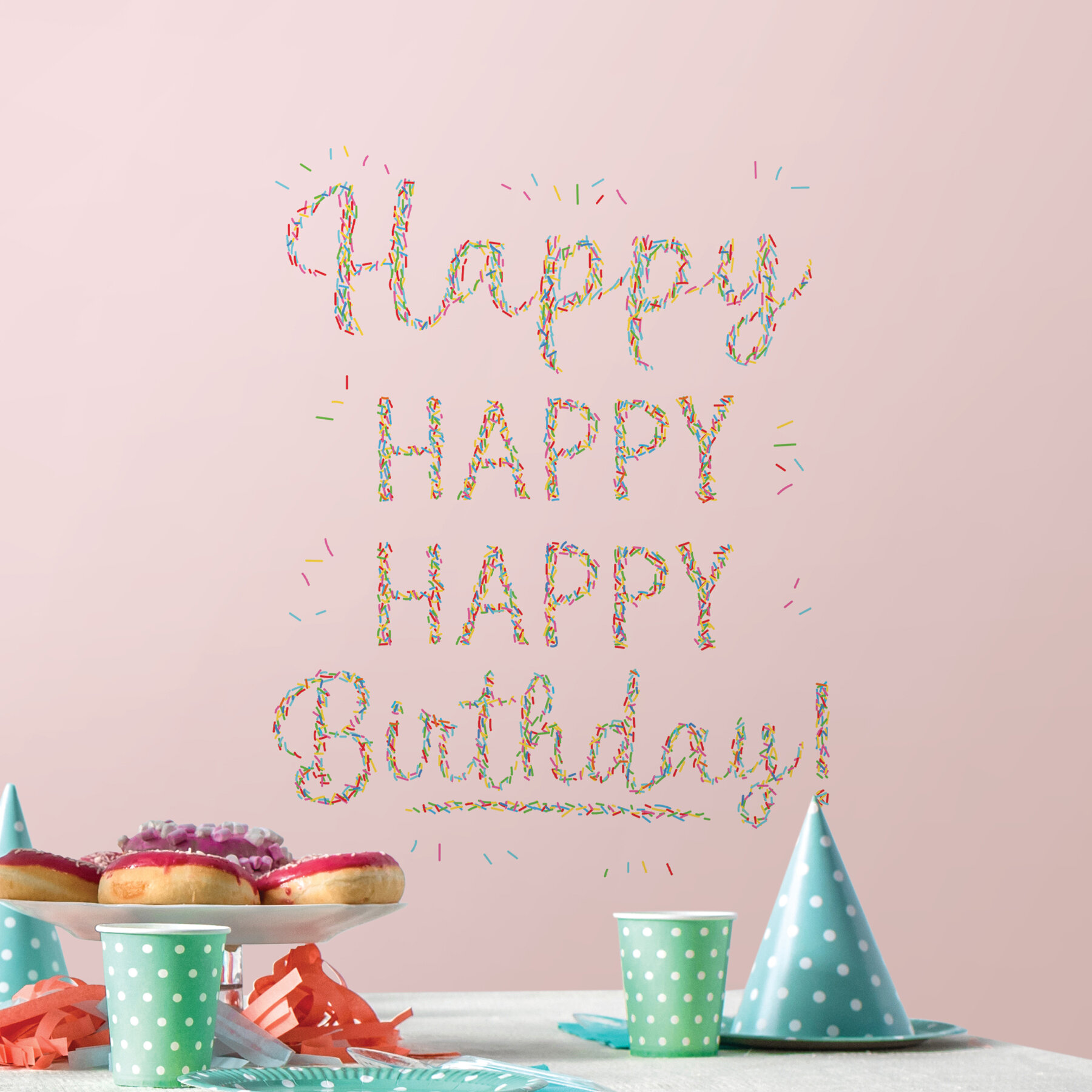 Hiest Birthday Wall Decal