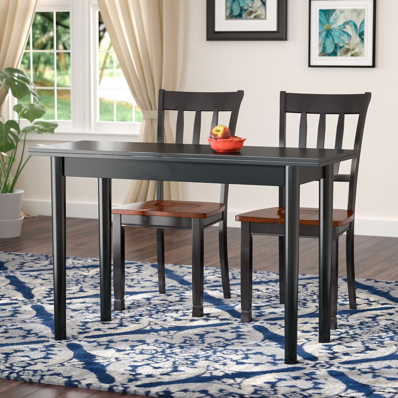 Andover Mills Rollins Extendable Dining Table Reviews: Andover Mills Parkison Flip Top Extendable Dining Table