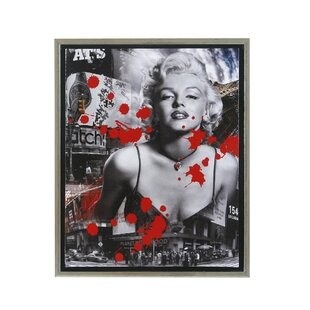 Marilyn Monroe Framed Graphic Art  sc 1 st  Wayfair & Marilyn Monroe Chair | Wayfair