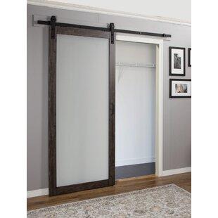Continental Glass Barn Door  sc 1 st  Wayfair & Barn Doors Youu0027ll Love | Wayfair