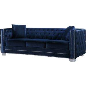 Creekside Velvet Chesterfield Sofa
