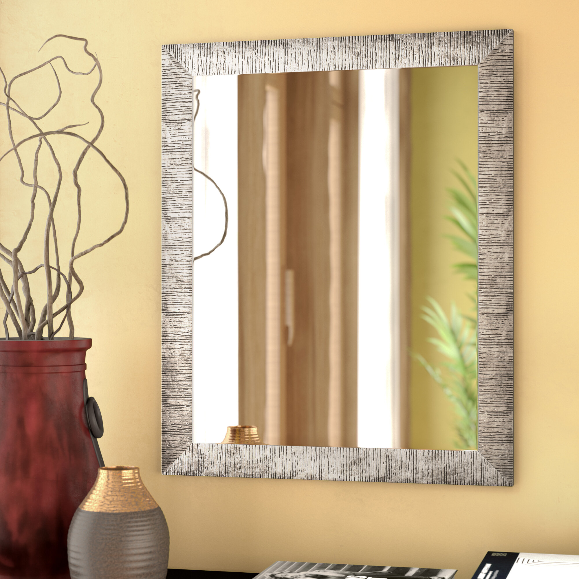 Skeete Wall Mirror & Reviews | Birch Lane