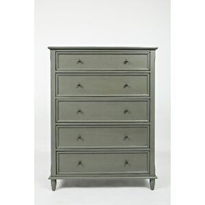Beatrice 5 Drawer Chest by Three Posts