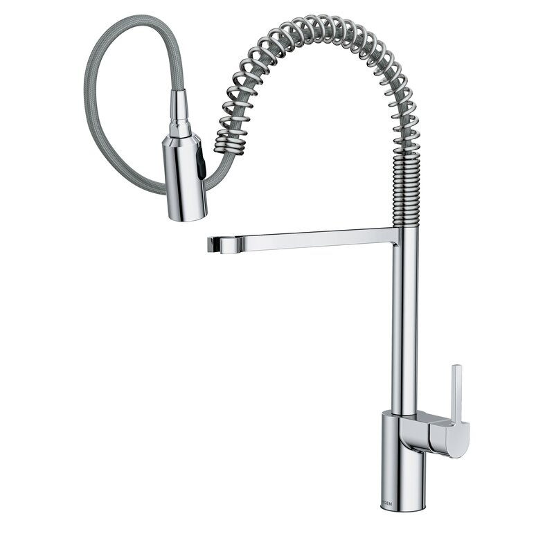 Moen Align Pull Down Single Handle Kitchen Faucet with Duralock ...