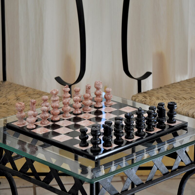 Marble Chess Set & Novica Marble Chess Set | Wayfair