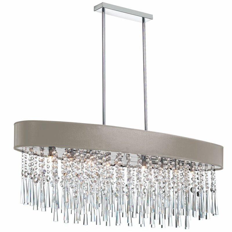 Mercer41 louth 8 light crystal chandelier wayfair louth 8 light crystal chandelier aloadofball Choice Image