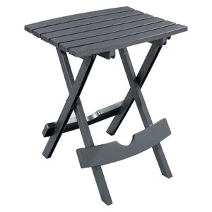 Quebec Folding Plastic Side Table