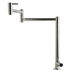Alfi Brand Retractable Pot Filler Kitchen Faucet