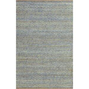 Azaria Hand-Woven Blue Area Rug