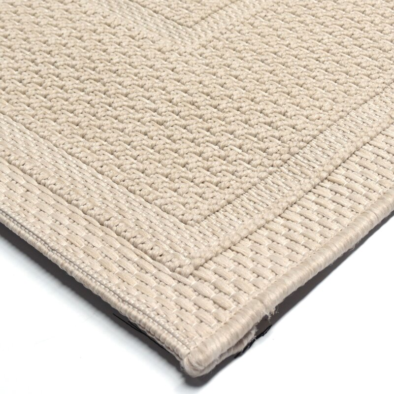 Acton Ivory Solid Indoor Outdoor Area Rug Amp Reviews