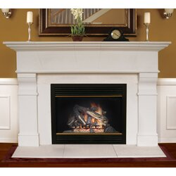 Americast Architectural Stone Roosevelt Fireplace Mantel Surround