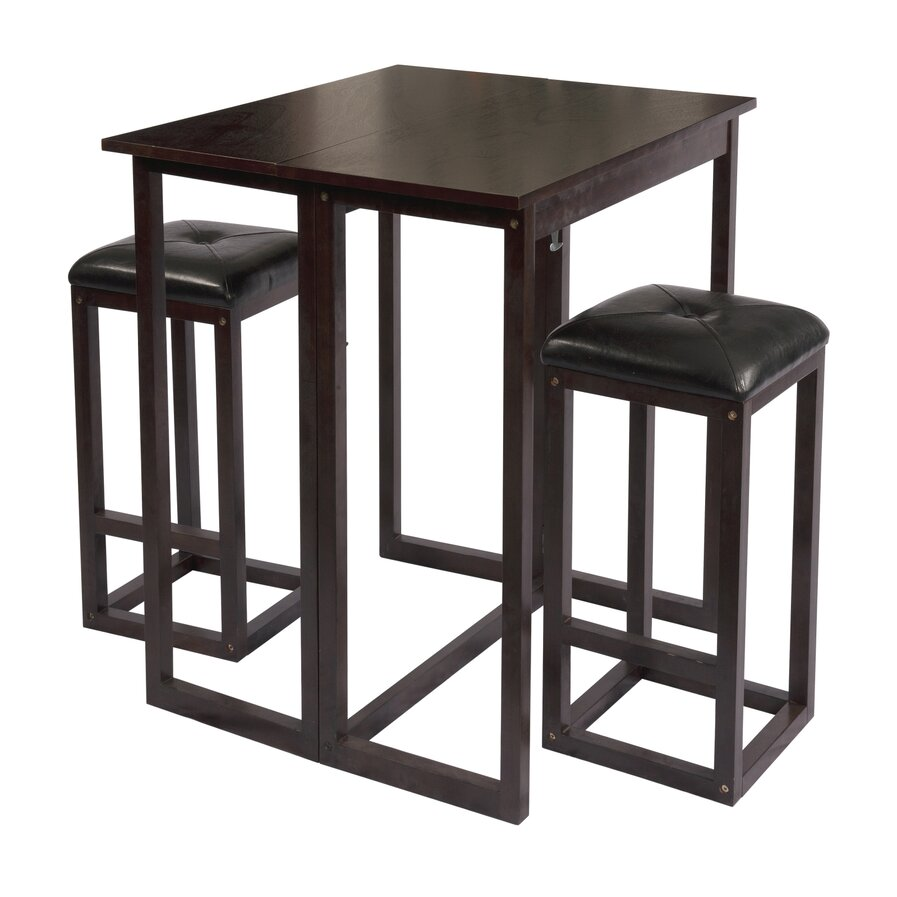 wisteria 3 piece dining set wayfair