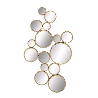 Modern Gold Wall Mirrors Allmodern