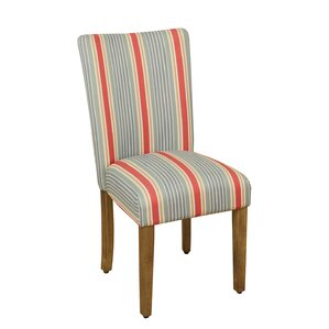 Antibes Striped Parsons Chair by Laurel Foundry Modern Farmhouse