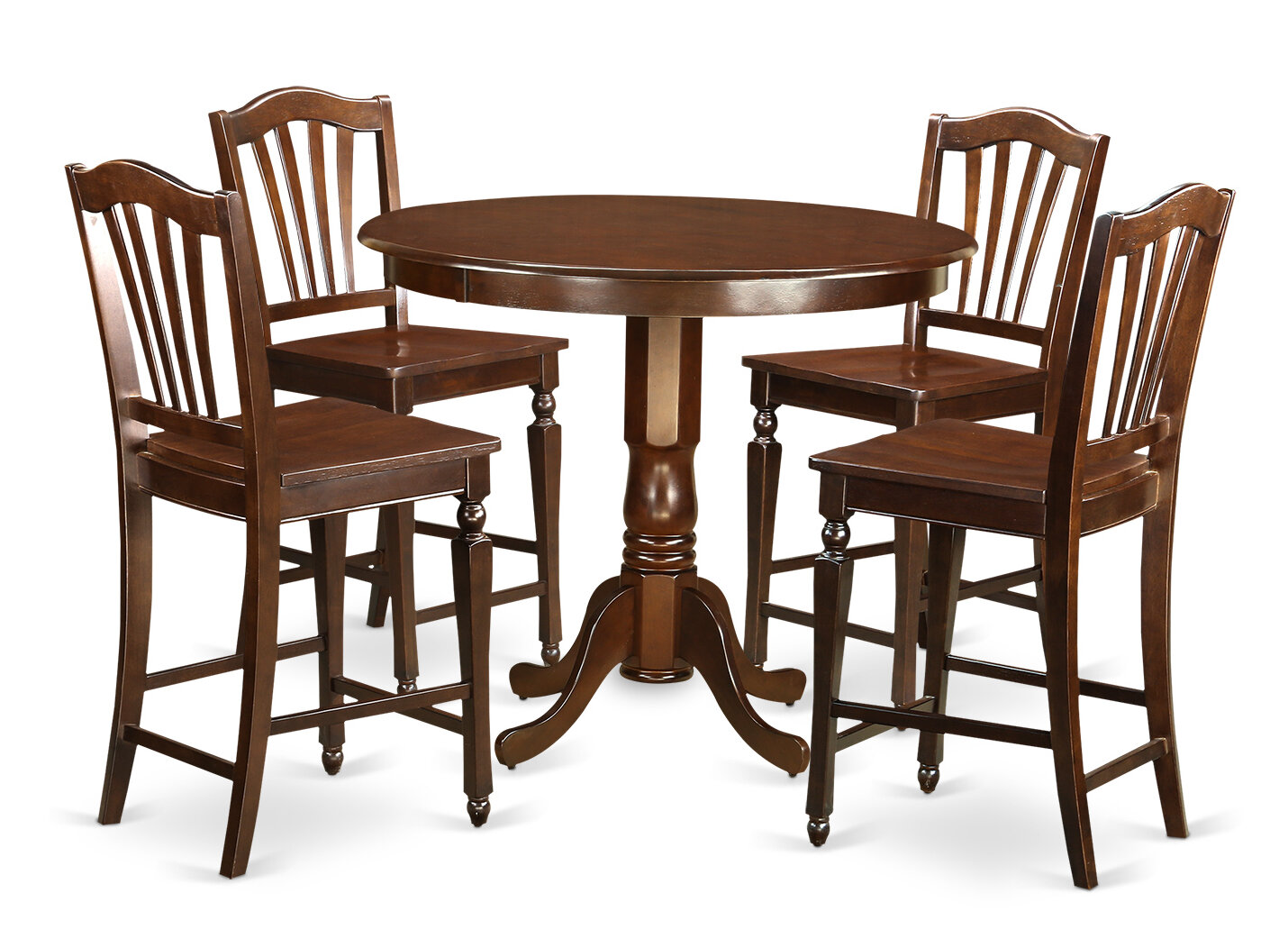 East west trenton 5 piece counter height pub table set for Cie publication 85 table 2