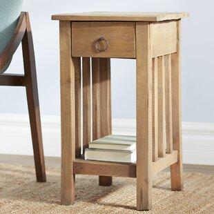 narrow bedside table   wayfair Narrow Nightstand