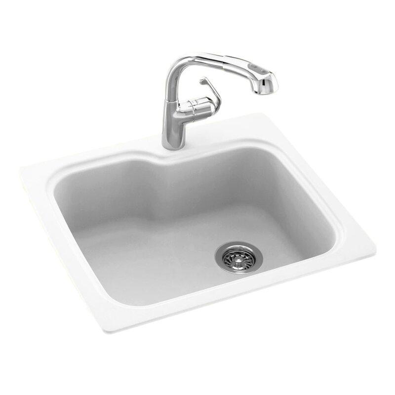 Kitchen Sink 25 X 22 Swan surfaces 25 x 22 drop inundermount kitchen sink reviews 25 x 22 drop inundermount kitchen sink workwithnaturefo