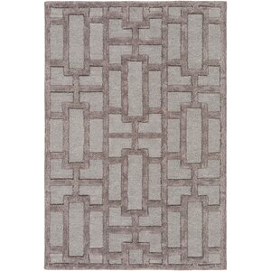 Arise Addison Hand-Tufted Light Blue/Gray Area Rug