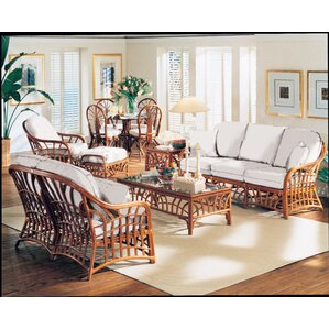 New Kauai Vera Cruz Fossil Loveseat by South Sea Rattan