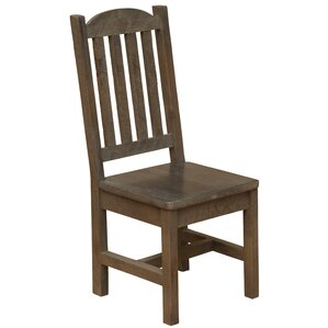 Frontier Cathedral Solid Wood Dining Chair by Fireside Lodge