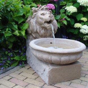 Brunnen Lille Aus Polyresin Mit Licht
