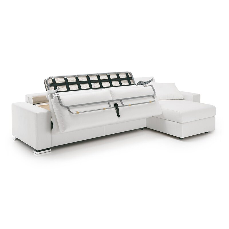 weekends with chaise only sectional storage furniture claire sleeper full