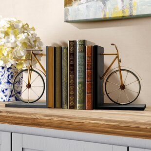 Bicycle Book Ends Set Of 2