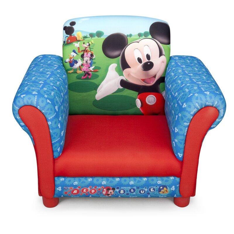 deltachildren kinder clubsessel micky maus. Black Bedroom Furniture Sets. Home Design Ideas