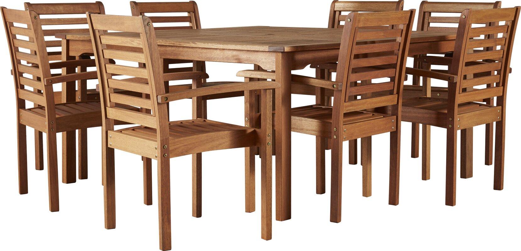 Elsmere 9 Piece Dining Set  sc 1 st  Joss \u0026 Main & Elsmere 9 Piece Dining Set \u0026 Reviews | Joss \u0026 Main