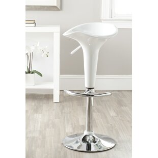 Raymonde Adjustable Height Swivel Bar Stool