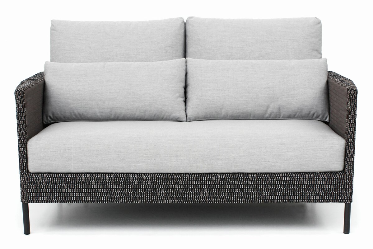 Precision Indoor Outdoor Loveseat With Cushions Reviews Perigold