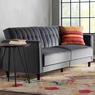 Lovely Dark Gray Couch | Wayfair