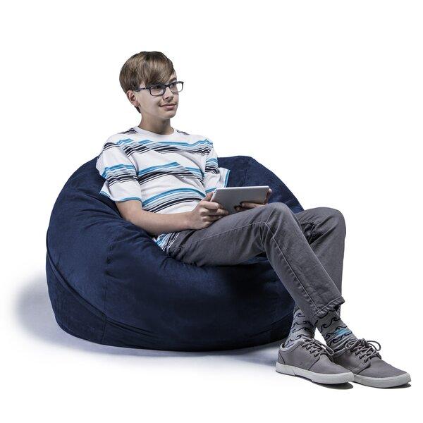 jaxx kids bean bag chair reviews wayfair. Black Bedroom Furniture Sets. Home Design Ideas