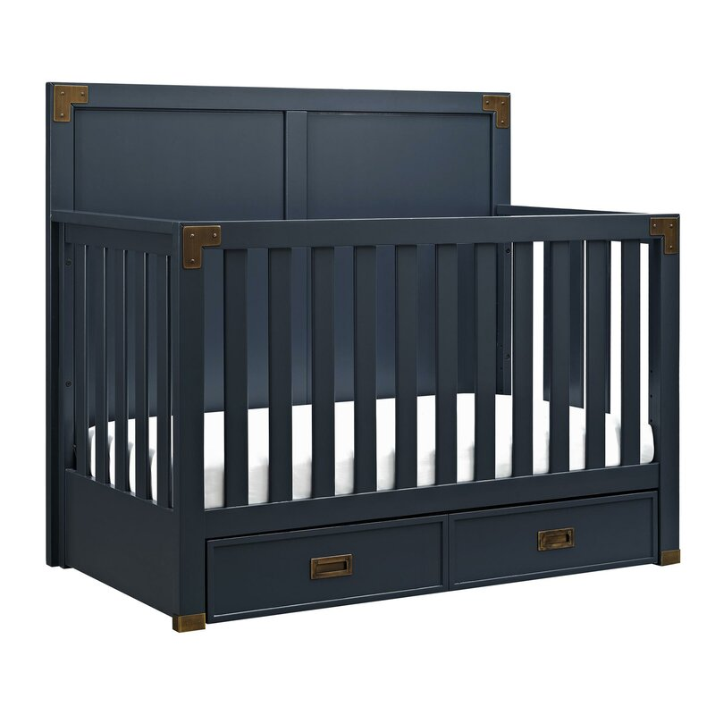 Sumitra 5 In 1 Convertible Crib With Storage Reviews Joss Main