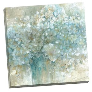 'Hydrangeas' Framed on Canvas