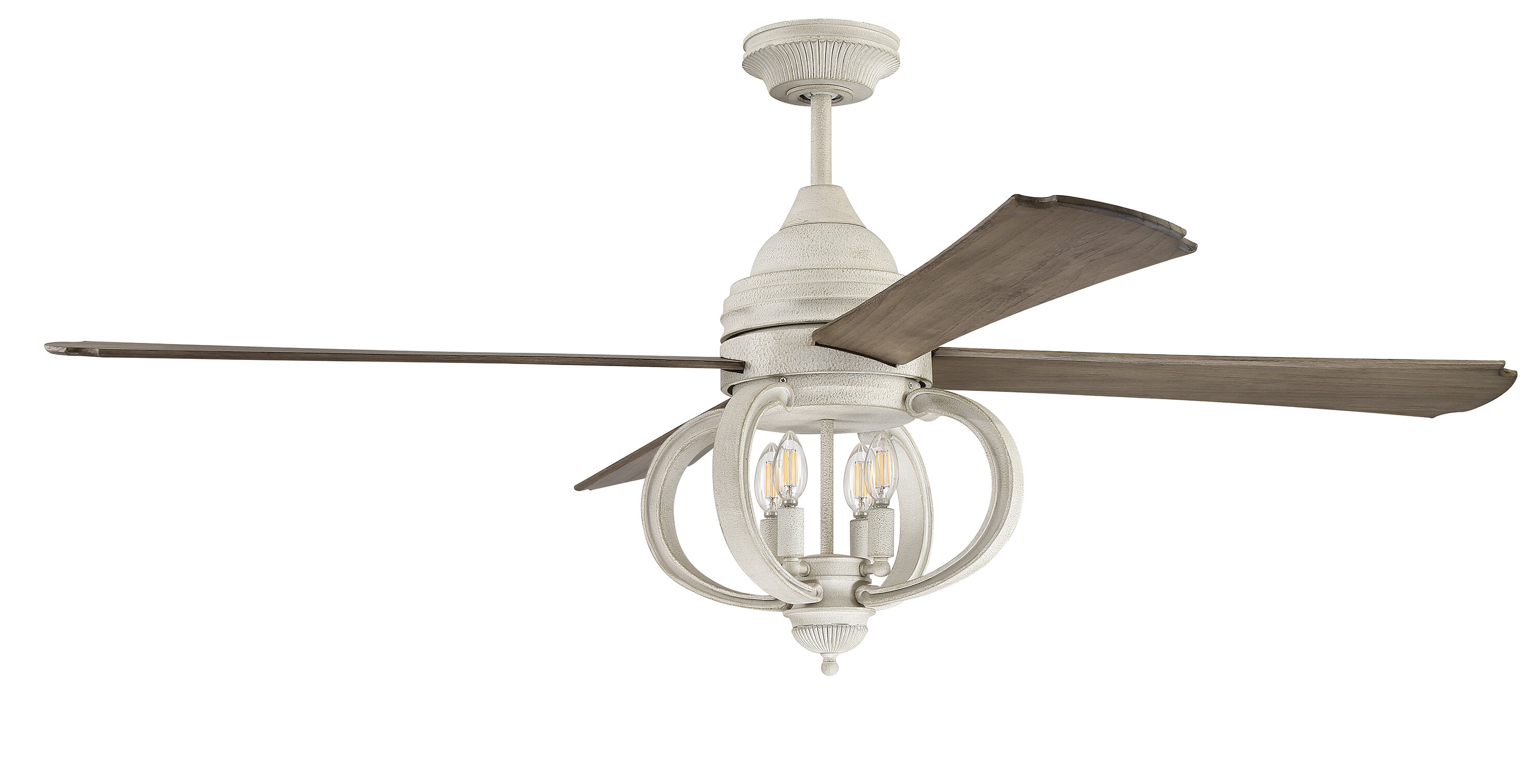 One Allium Way 60 Quot Kali 4 Blade Ceiling Fan With Remote