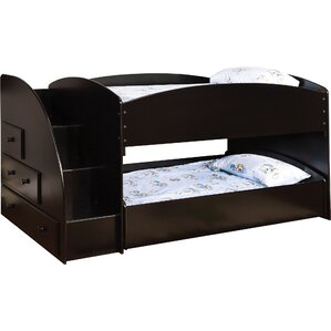Jamie Twin Bunk Bed with Storage by Ho..