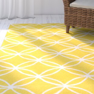 Charthouse Hand Tufted Yellow Area Rug
