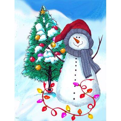 Outdoor Snowman Tree Hugger Wayfair
