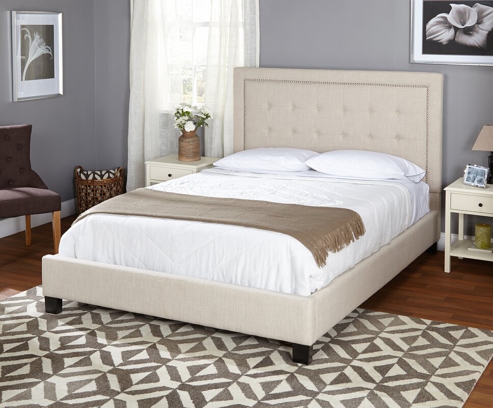 Wayfair Upholstered Panel Bed: TMS Queen Upholstered Panel Bed & Reviews