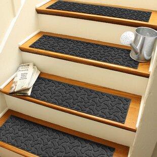 Bon Black U0026 Gray Stair Tread Rugs Youu0027ll Love In 2019   Wayfair