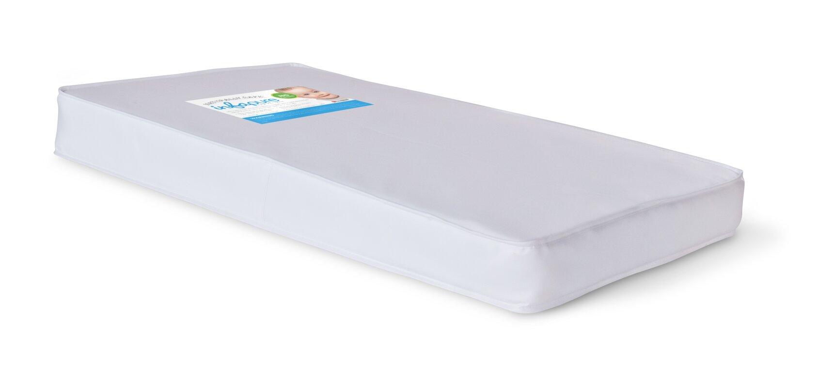 foundations infapure 4 compact crib mattress reviews wayfair