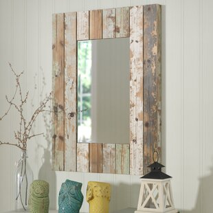 Pires Farmhouse Wall Mirror