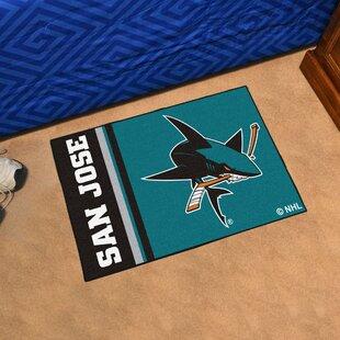 de5876e9bc3 San Jose Sharks Uniform Starter Doormat