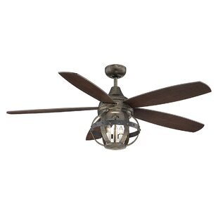 52 Wilburton 5 Blade Led Ceiling Fan With Remote